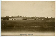 MALAYA circa 1910 Singapore Sepia card - 'Race Course, Singapore' - Unused