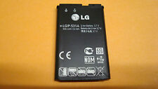 ORIGINAL LG LGIP-531A OEM Battery GB110 GB125 GM205 KU250 320G KX186 KX190 KX218