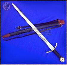 Templar Crusader Sword scabbard & belt decorative costume enamel