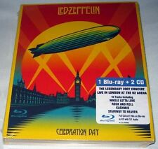 Led Zeppelin - Celebration Day (2012) 2 CD / Blu-ray NEW digipak (DVD Size)