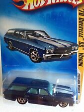 HOT WHEELS 2009 NEW MODELS SERIES '70 CHEVY CHEVELLE SS WAGON Blue