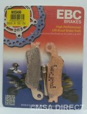 Yamaha YZ250 (2008 to 2016) EBC Sintered RACE FRONT Brake Pads (MXS450) (1 Set)