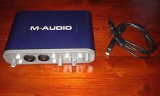 m-audio fast track pro (usb audio/midi interface)