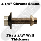 "4 1/8"" Draft Beer Shank Assembly Chrome 3/16"" Bore Kegerator Tap Homebrew"