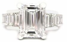EMERALD CUT DIAMOND ENGAGEMENT RING 2.40CTW PRONG SET