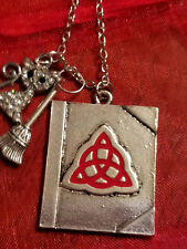 Celtic Knot - Charmed Book of Shadows Necklace Cat  Wicca, Celtic Love Druid