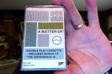 Mood Six- A Matter of!/The Difference Is....- double play- new cassette- rare??