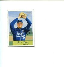 Chris George Kansas City Royals Olympic Gold Basebal Signed Autograph Photo Card