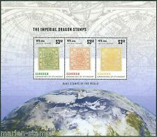ST VINCENT CANOUAN 2014 RARE STAMPS OF THE WORLD - CHINA DRAGONS SHEET