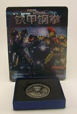 STEELBOOK Blufans Real Steel Viva Metal Box New Region All w/Coin