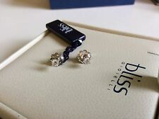 Bliss by Damiani 'Juliet' 18K White Gold Diamond Earrings 20026687