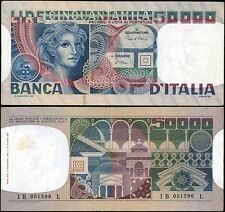 50000 Lire Volto di donna 2/11/1982 Ciampi - Stevani