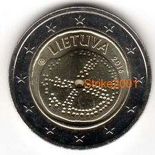 NEW !!! 2 EURO COMMEMORATIVO LITUANIA 2016 Cultura Baltica NEW !!!