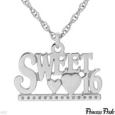 PRINCESS PRIDE Sweet 16  Necklace in 925 Sterling silver