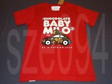 A BATHING APE BAPE BABY MILO 5TH CHOCOOLATE BABYMILO CAR PRINTED TEE WOMAN LE