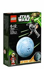 LEGO star wars 75010 B-wing starfighter pilote d'Endor planet boule series 4