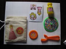 Princess Peach handmade goody bag party goods stocking stuffer bubbles Mario