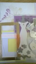 DIY Wedding Day Craft Making Kit - 35 Item Craft Pack Embellishments and Cards