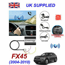 Infinity FX45 Bluetooth Hands Free Phone AUX Input MP3 USB 1.0A Charger Module