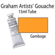 M. Graham Artists' Gouache Gamboge  15ml Tube 36-105