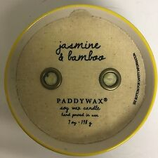 Paddywax Candle, Jasmine & Bamboo Soy Wax, 7 oz., Ceramic Bowl