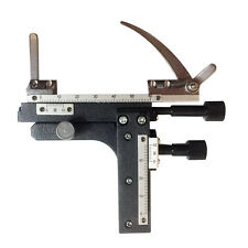 Microscope parts attachable mechanical stage X-Y moveable stage with scale
