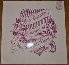 WEST CORNWALL MUSEUM OF MECHANICAL MUSIC LP vinyl rare FOLK history vinyl record