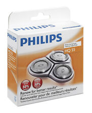 PHILIPS PHILISHAVE HQ3 HQ4 HQ55 SHAVER ROTARY RAZOR HEAD BLADE SET