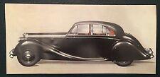 JAGUAR  BROCHURE coupe saloon C E D SS 100 90 xk early type