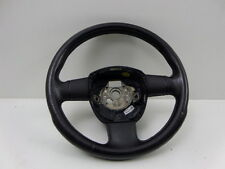 Audi A4 05-08 Black Leather 3 Spoke Steering Wheel - Part no 8P0419091BJ