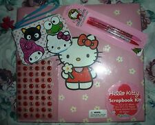 Hello Kitty Pink 13.5x12.5 Scrapbook Photo Sticker Album etc. Sanrio Unused 2007