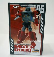Action Toys Machine Robo Revenge Of Cronos 05 Mixer Robo Gobots Block Head