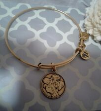 Alex and & Ani Ariel Little Mermaid Disney Princess Gold Bangle Bracelet Rare