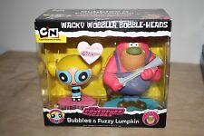 Funko Wacky Wobbler Bobble-Heads Powerpuff Girls Bubbles & Fuzzy Lumpkin 2-Pack