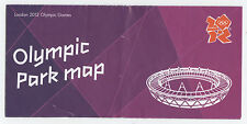 Orig.Guide   Olympische Spiele LONDON 2012  -  OLYMPIC PARK  !!  SELTEN
