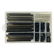 750pcs 40 Pin 2.54mm Pitch Pin Headers+ Dupont Male/Female Pin Connector Kit Set