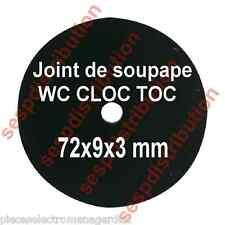 Joint de mécanisme WC CLOC TOC  72x9x3 pour soupape CLOC TOC