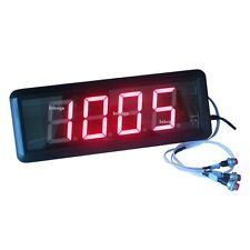 1.8'' 4Digits LED Number Counter Countdown Count Up From 9999 to 0 Digital Timer
