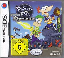Phineas und Ferb - Quer durch die 2. Dimension (Nintendo DS)