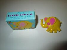 Avon Vintage 1973 Elphie Elephant Pin Pal Fragrance Glace Pin