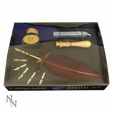 Calligraphic Ritual Set Brand New Wax Sealing Ink Pen Mythical Mystical