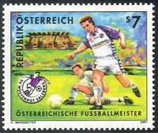 Austria 2001 Football Clubs/Soccer/Sports/Games/SV Casino, Salzburg 1v (n24754)