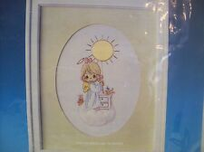 Vintage 1984 Precious Moments This is Your Day to Shine - Stitchery Kit w/ Mat