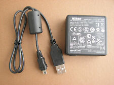 OEM Nikon AC Wall Battery Charger /USB Cable Cord For CoolPix S6200 S6150 Camera