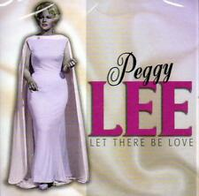 PEGGY LEE - LET THERE BE LOVE (NEW SEALED CD)