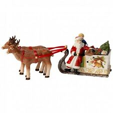 Villeroy & Boch CHRISTMAS TOYS Sled with Santa