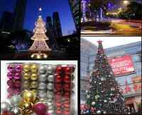 24X Christmas Tree Ball Bauble Hanging Xmas Party Ornament Decor Beautiful Home