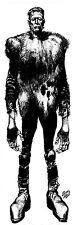 Vintage 6 foot Jack Davis Frankenstein poster Mail Order Novelty from 1970'S