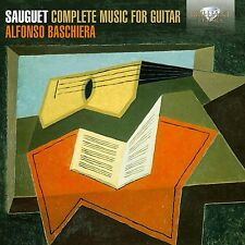 ALFONSO BASCHIERA - COMPLETE MUSIC FOR GUITAR  CD NEU SAUGUET,HENRI