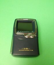 VINTAGE Casio Handheld Ti-STN LCD Color Television TV-980B Portable TV Analog